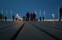 Wieczorami darmowe wejście na molo w Sopocie