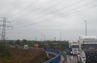 Parada ciężarówek Scania na Armii Krajowej w Gdańsku