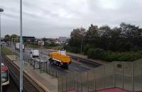 Przejazd ciężarówek Scania ulicami Gdańska