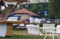 Ewakuacja klientów hotelu Marriot w Sopocie