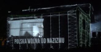 Instalacje multimedialne na Westerplatte - Światłocienie 2019