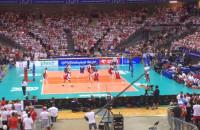 Mecz siatkówki Polska-Francja
