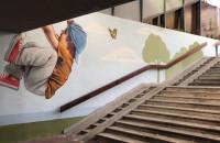 Nowe murale w gdyńskim przejściu podziemnym