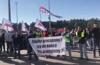 Pikieta Solidarności i załogi DCT