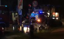 Zderzenie aut w Oliwie
