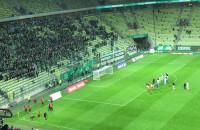 Kibice po meczu Lechia Gdańsk - Zagłębie Lubin
