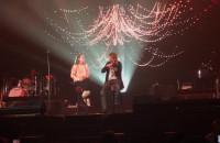 David Garrett z fanką na scenie