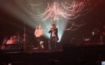 David Garrett z fanką na scenie w Ergo...