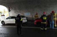 Wypadek na Wielkopolskiej w Gdyni