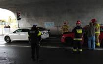 Wypadek na krzyżówce Wielkopolskiej i...