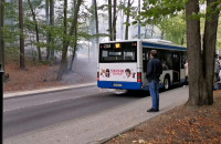 Awaria autobusu linii 181 w Sopocie