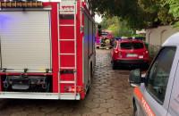 Skutki wybuchu gazu w Gdyni. Ranna kobieta