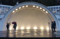 Muszla koncertowa w Gdyni po remoncie