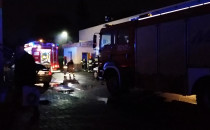 Pożar w pizzerii na Chełmie