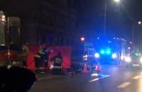 Wypadek motocyklisty Gdańsk Trakt św. Wojciecha