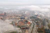 Niesamowite chmury nad Gdańskiem