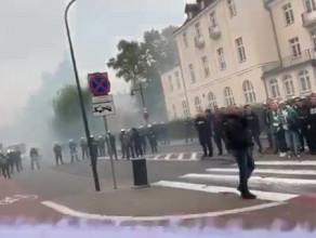 Kibice Lechii mobilizują piłkarzy przed derbami