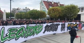 Kibice Lechii zebrali się w Sopocie