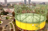 Nietypowe Budowle Trójmiasta. Dawny zbiornik gazu przy ulicy Wałowej