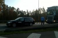 Kierowca passata zajechał drogę i spowodował kolizję