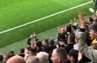Arka Gdynia - Lechia Gdańsk 2:2. Podziękowanie po meczu