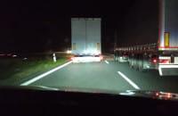 Bezczelność kierowcy ciężarówki