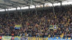 Arka Gdynia - Lechia Gdańsk 2:2. Doping