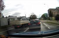 Niebezpieczna sytuacja na drodze w Wejherowie