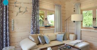 SeaUSasino:: - Luksusowe, całoroczne drewniane domy z kominkami nad morzem