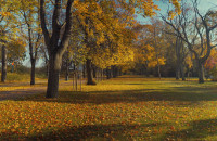 Piękna jesień w Sopocie