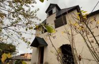 Ruiny dawnej restauracji Cisowianka w Gdyni