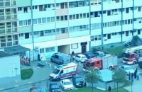Przymorze akcja służb ratunkowych