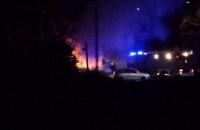 Pożar samochodu na Traugutta w Gdańsku