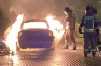 Pożar samochodu o 4 rano w Gdańsku