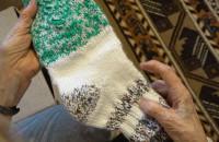 95-letnia sopocianka robi skarpetki dla potrzebujących