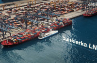 Wizualizacja Portu Zewnetrznego w Gdyni