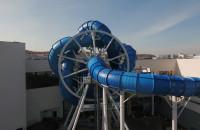 Pierwsza w Europie obrotowa wodna zjeżdżalnia