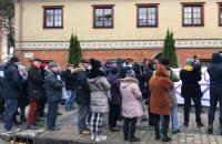 Manifestacja pod kurią w Gdańsku