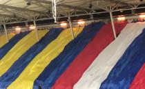 Oprawa podczas meczu Arki Gdynia z Pogonią...