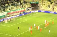 Lechia Gdańsk - Zagłębie Lubin 3:2. Flavio Paixao zwycięski gol