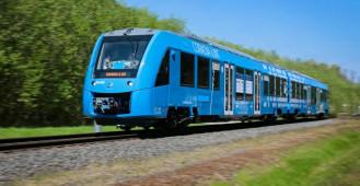 Pierwszy na świecie pociąg napędzany wodorem firmy Alstom