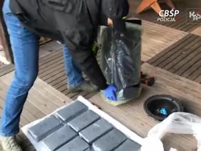 Przemyt kokainy - akcja CBŚP i KAS