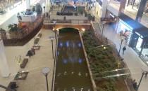 Woda wypełniła kanał Raduni w Forum Gdańsk
