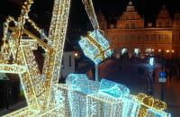Gdańsk ubrany w świąteczne światełka