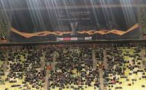 Meksykańska fala podczas meczu Lechia...