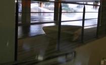 Awaria wodociągowa na wjeździe do Riviery