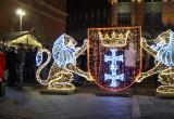 Rozświetlony Gdańsk na święta