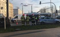 Skutki kraksy na Węźle Ciegielskiej w Gdyni