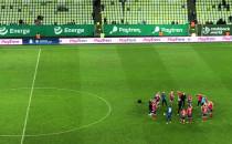 Koniec meczu Lechia Gdańsk - Raków...