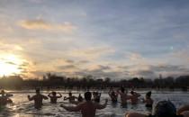 Noworoczne morsowanie - widok z wody